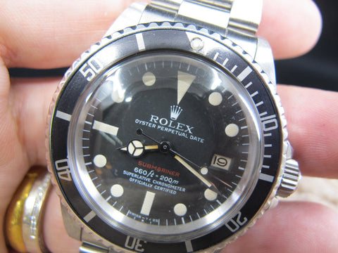 [1972] Rolex *RED* SUBMARINER 1680 Mark V with RSC Papers