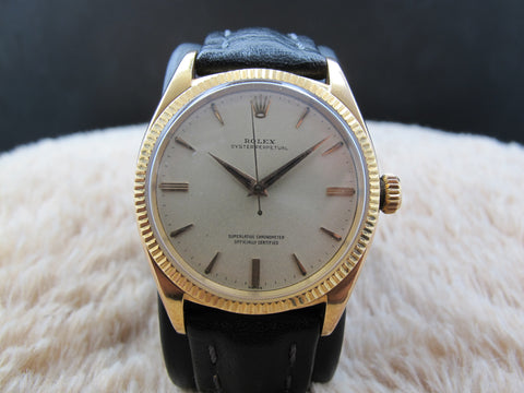 1959 Rolex OYSTER PERPETUAL 1013 18K Pink Gold (36mm)