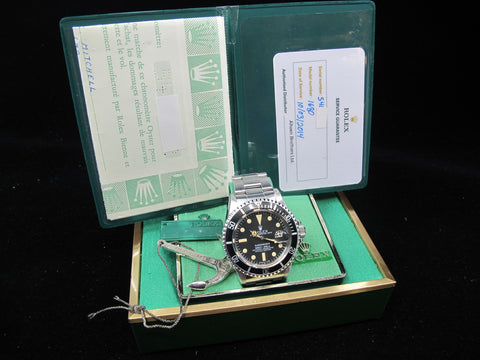 [1978] Rolex SUBMARINER 1680 Matt MK1 Dial with Box and Papers