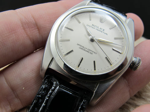 [1944] Rolex BUBBLEBACK 2940 with Original Silver Dial