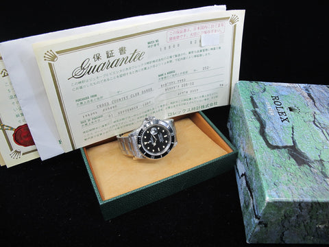 [1987] Rolex SUBMARINER 16800 Cream Lume Dial with Box and Paper
