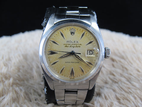 [1960] Rolex AIR KING DATE 5700 with Original Tropical Dial