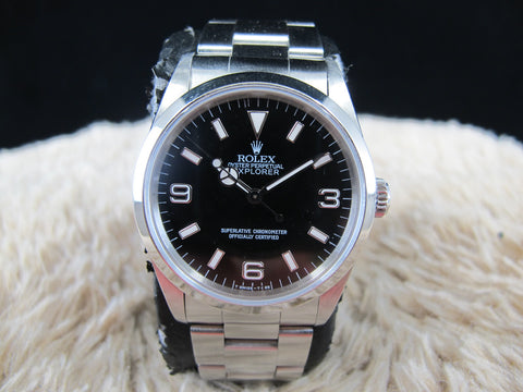 [1996] Rolex EXPLORER 1 14270 Black Dial (T25) with Mint Condition