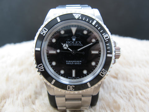 1987 Rolex SUBMARINER 5513 with WG Marker and Dome Crystal