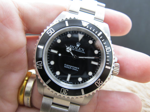 [2001] Rolex SUBMARINER 14060 (SWISS MADE Dial) with Box and Paper