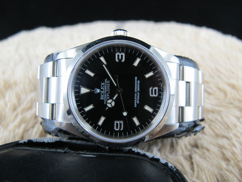 [1991]  Rolex EXPLORER 1 14270 with T25 Dial (Lug Holes Case) Full Set
