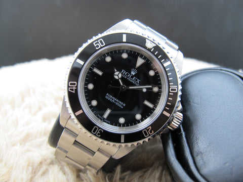 2004 Rolex SUBMARINER 14060M Full Set with Box and Paper