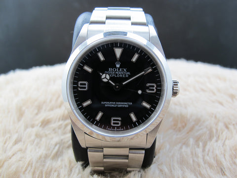 2000 Rolex EXPLORER 1 14270 Black Dial Mint Condition