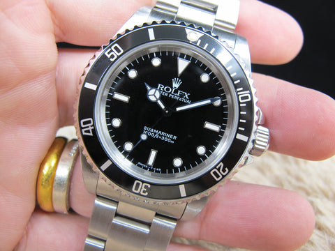 1998 Rolex SUBMARINER 14060 (T25 Dial) with Box and Paper