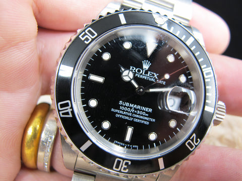 1993 Rolex SUBMARINER 16610 (T25 Dial) with Box and Paper