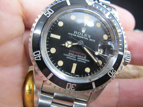 [1969] Rolex *RED* SUBMARINER 1680 Mark I Meter First Long F