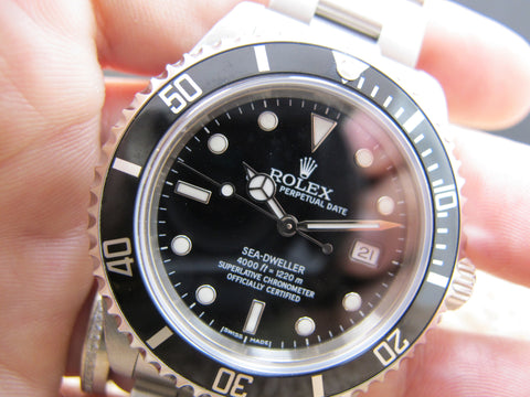 2004 Rolex SEA DWELLER 16600 with Box and PAPER