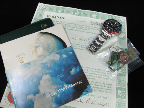 1979 Rolex GMT MASTER 1675 Mark 5 Maxi Dial with Full Set