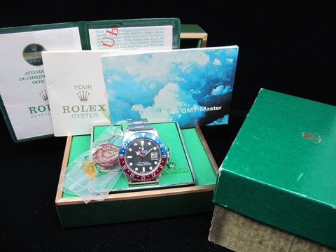 [1979] Rolex GMT MASTER 1675 Mark 5 Maxi Dial with Full Set