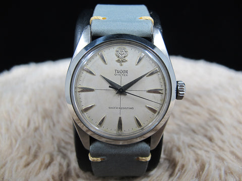 "1961 Tudor OYSTER 7934 Original BIG ROSE ""Cross"" Dial"