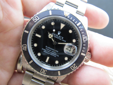 1984 Rolex SUBMARINER 16800 Glossy Patina Dial