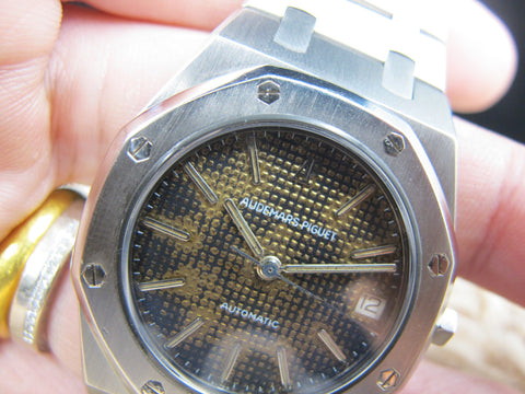 1970 Audemars Piguet ROYAL OAK 4100ST Steel with Tropical Dial