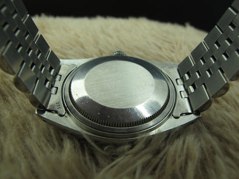 "1976 Rolex DATEJUST 1601 SS ORIGINAL Silver ""Tiffany & Co."" Dial"