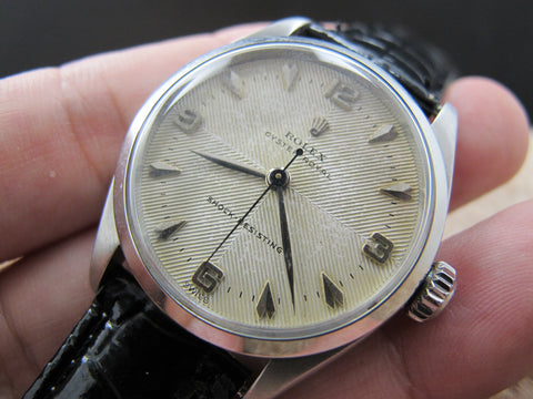 1956 Rolex OYSTER ROYAL 6444 Original Dual Texture Dial