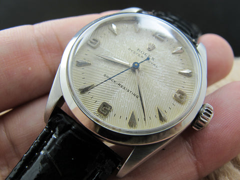 [1956] Rolex OYSTER ROYAL 6444 Original Dual Texture Dial