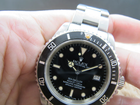 1984 Rolex SEA DWELLER 16660 (Triple 6) T25 Patina Dial UNPOLISHED