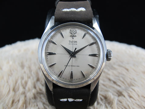 "1963 Tudor OYSTER 7934 Original BIG ROSE ""Cross"" Dial"