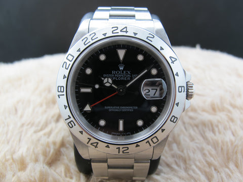 1994 Rolex EXPLORER 2 16570 with Black Dial