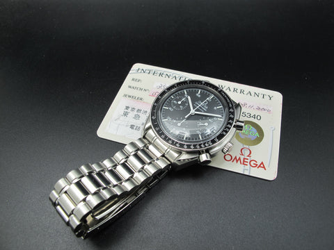 2000 Omega SPEEDMASTER 3510.50 Chronograph Automatic Stainless Steel Watch