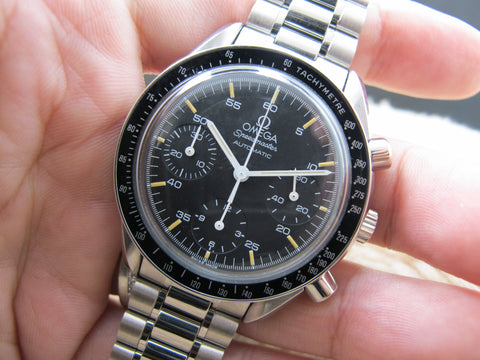 1991 Omega SPEEDMASTER 3510.50 Chronograph Automatic Stainless Steel Watch