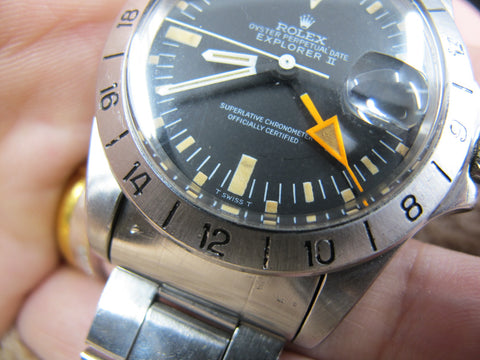 1975 Rolex EXPLORER 2 1655 MK1 Straight Hand with Box and Paper