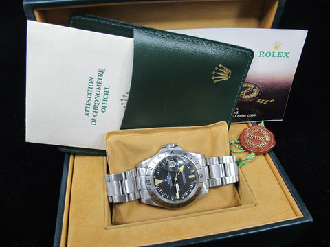 1972 Rolex EXPLORER 2 1655 MK1 Straight Hand with Box and Paper