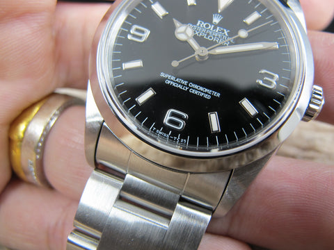 1994 Rolex EXPLORER 1 14270 (T25 Dial) with Full Set (with lug holes)