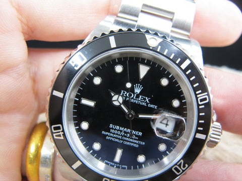 1998 Rolex SUBMARINER 16610 (T25 Dial) with Box and Paper