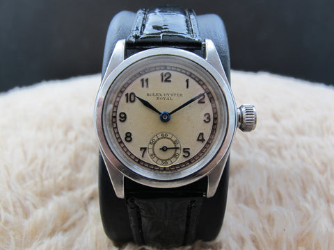 1939 Rolex OYSTER ROYAL 2280 with Raised Arabic Numerals with Sub-Seconds
