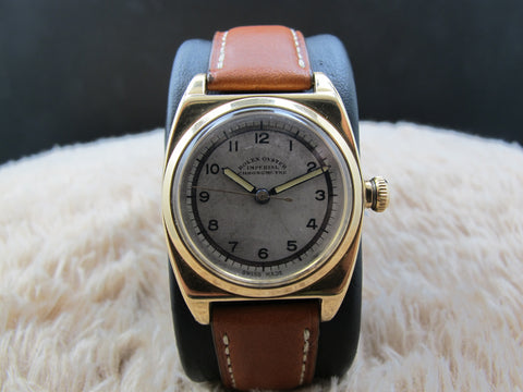 1946 Rolex OYSTER IMPERIAL Military 3116 14K Gold with Arabic Dial