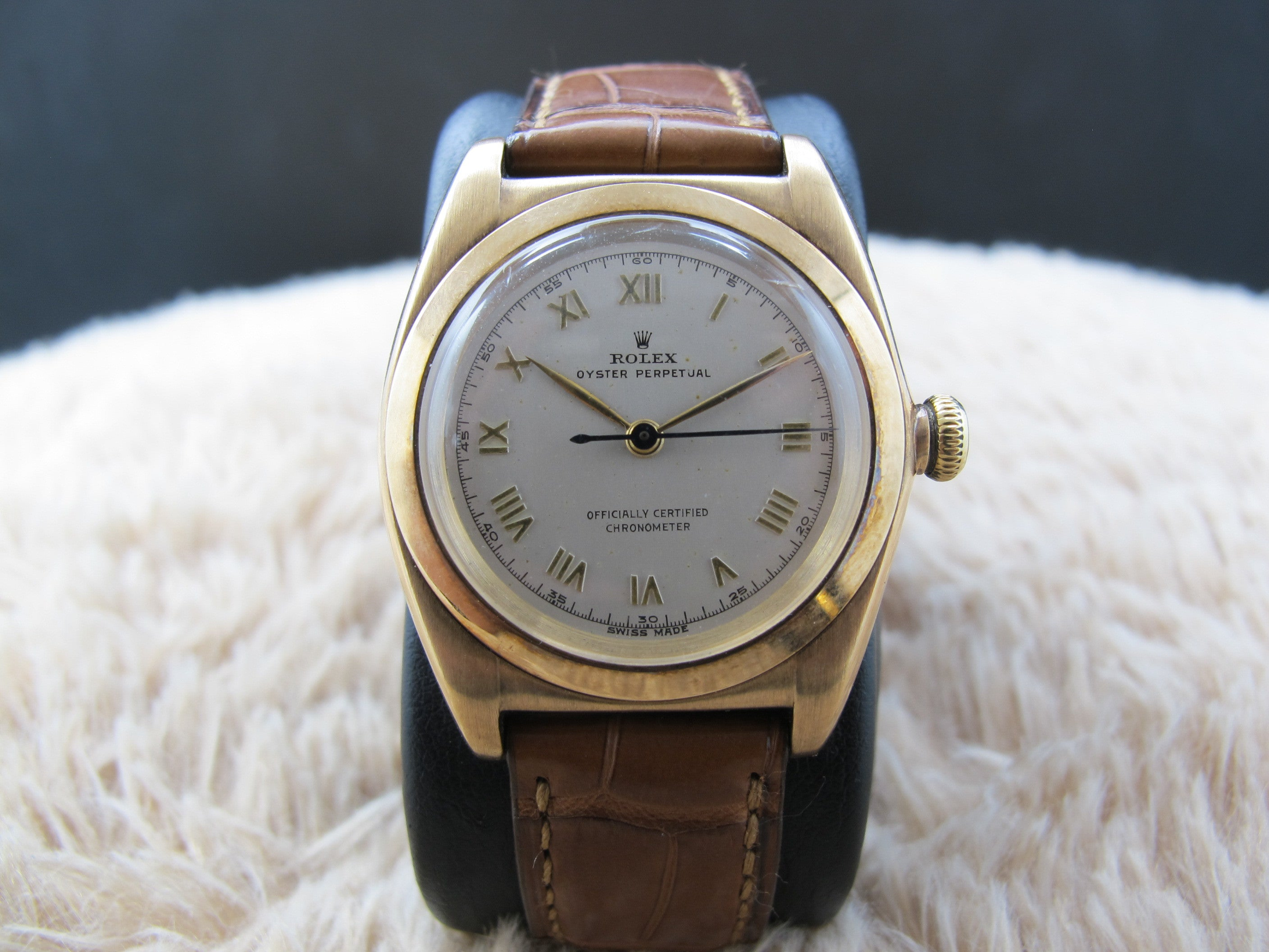 gold img bubbleback watches roman numerals raised with rolex pink products