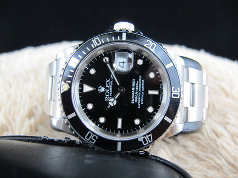 1991 Rolex SUBMARINER 16610 (T25 Dial) with Box and Paper