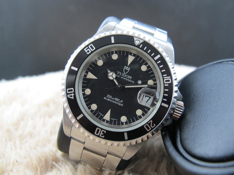 1995 Tudor SUBMARINER 79190 Black Dial/Bezel with Original Paper
