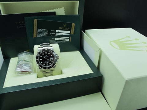 2012 Rolex SUBMARINER 116610LN Stainless Steel Ceramic Bezel Full Set