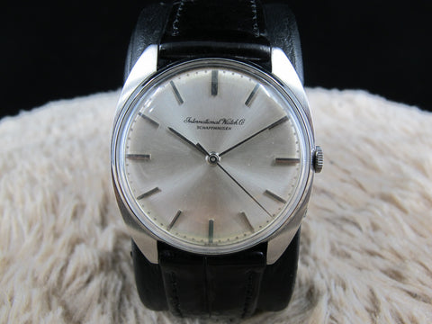 1960 IWC Manual Winding Movement with Original Silver Dial