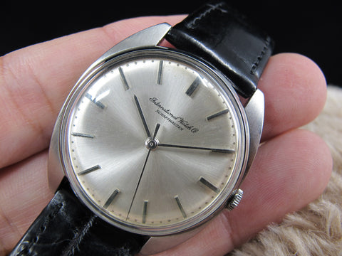 [1960] IWC Manual Winding Movement with Original Silver Dial