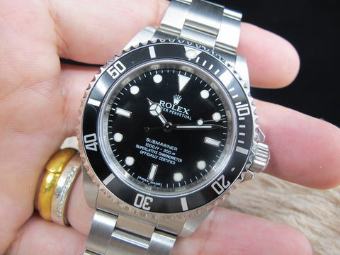 2011 Rolex SUBMARINER 14060M 4 Liners with Box and Papers