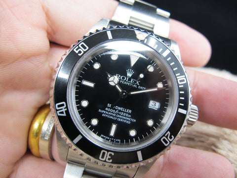 1997 Rolex SEA DWELLER 16600 (T25 Dial) with Box and PAPER