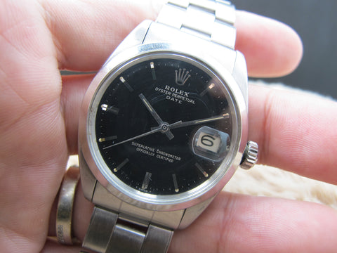 1966 Rolex OYSTER DATE 1500 Original Gilt Dial and Double Papers