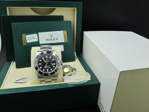 [NEW] 2017 Rolex SUBMARINER 116610LN Ceramic Bezel Full Set