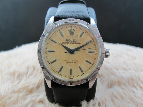 [1956] Rolex OYSTER PERPETUAL 6569 with Tropical Dial