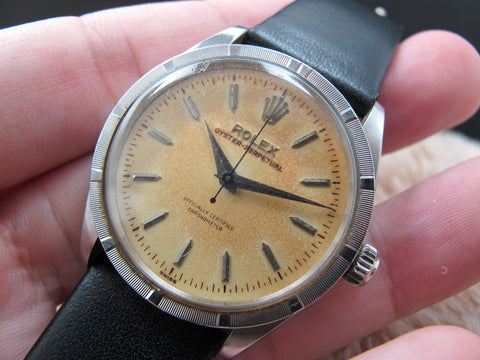 1956 Rolex OYSTER PERPETUAL 6569 with Tropical Dial