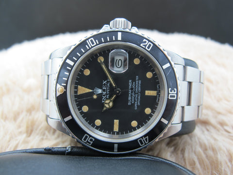 1981 Rolex SUBMARINER 16800 Matt Dial with Nice Patina
