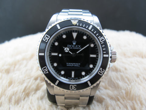 1996 Rolex SUBMARINER (No Date) 14060 (T25) with Black Bezel