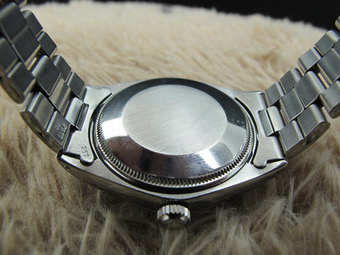 1967 Rolex OYSTER PERPETUAL 1002 Original Grey Dial and Nice Patina